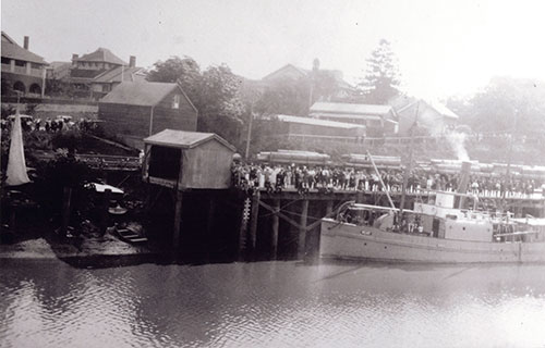 Maryborough's wharves c.1930